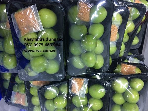 khay nhựa trái cây