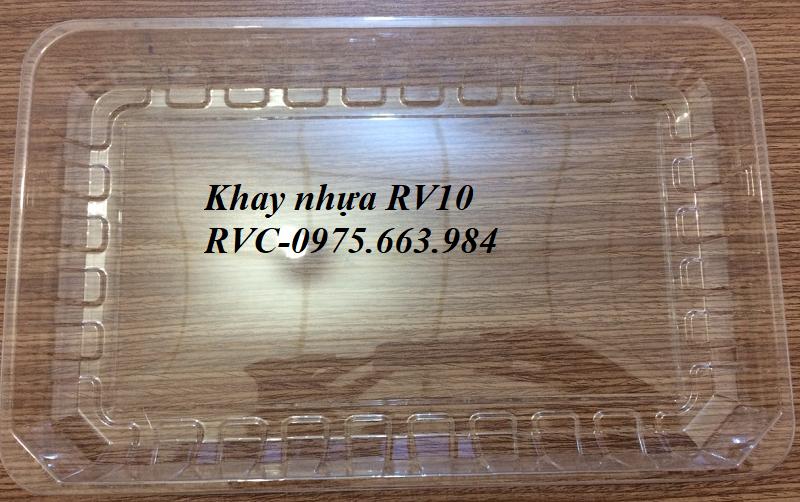 khay  nhựa thủy sản RV10