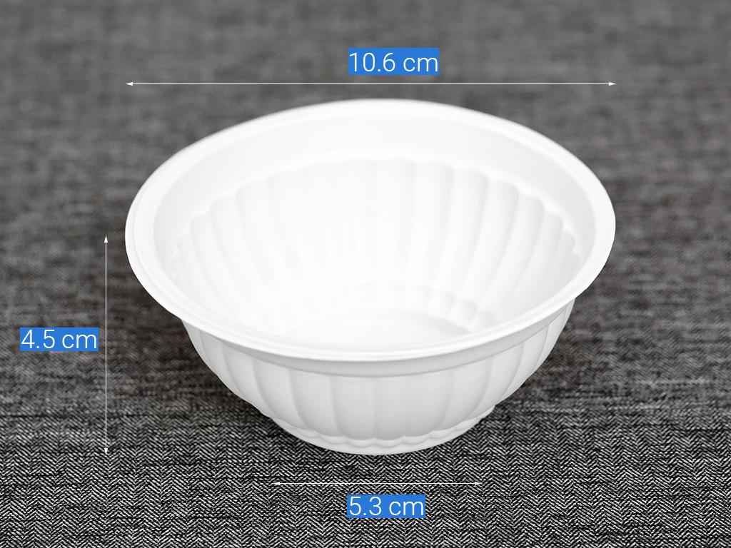 chén nhựa dùng 1 lần