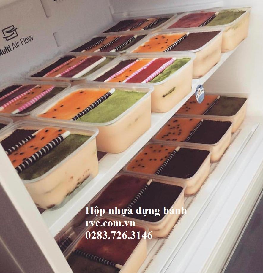 hộp nhựa chữ nhật