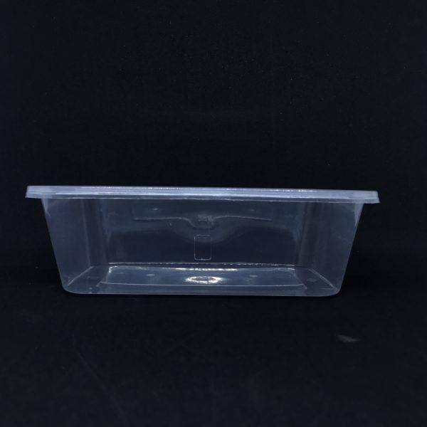 hộp nhựa vuông trong
