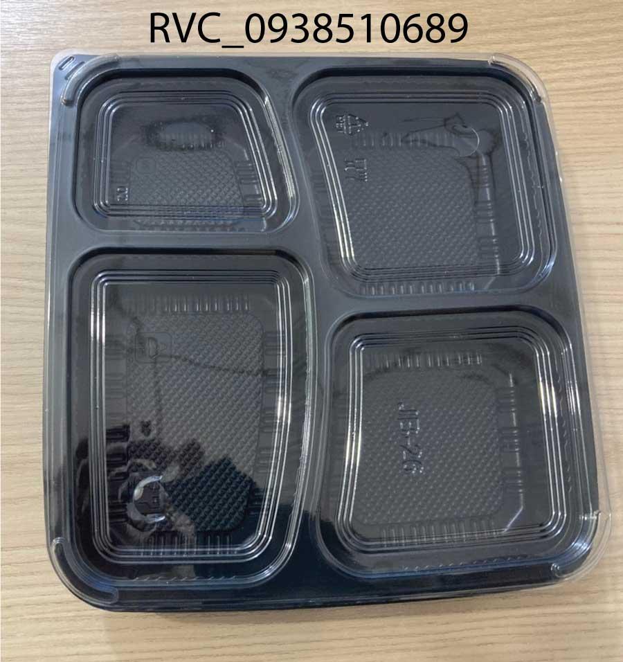 hộp nhựa 4 ngăn jb26