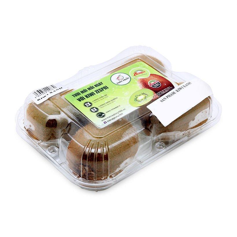 hộp nhựa 4 trái kiwi