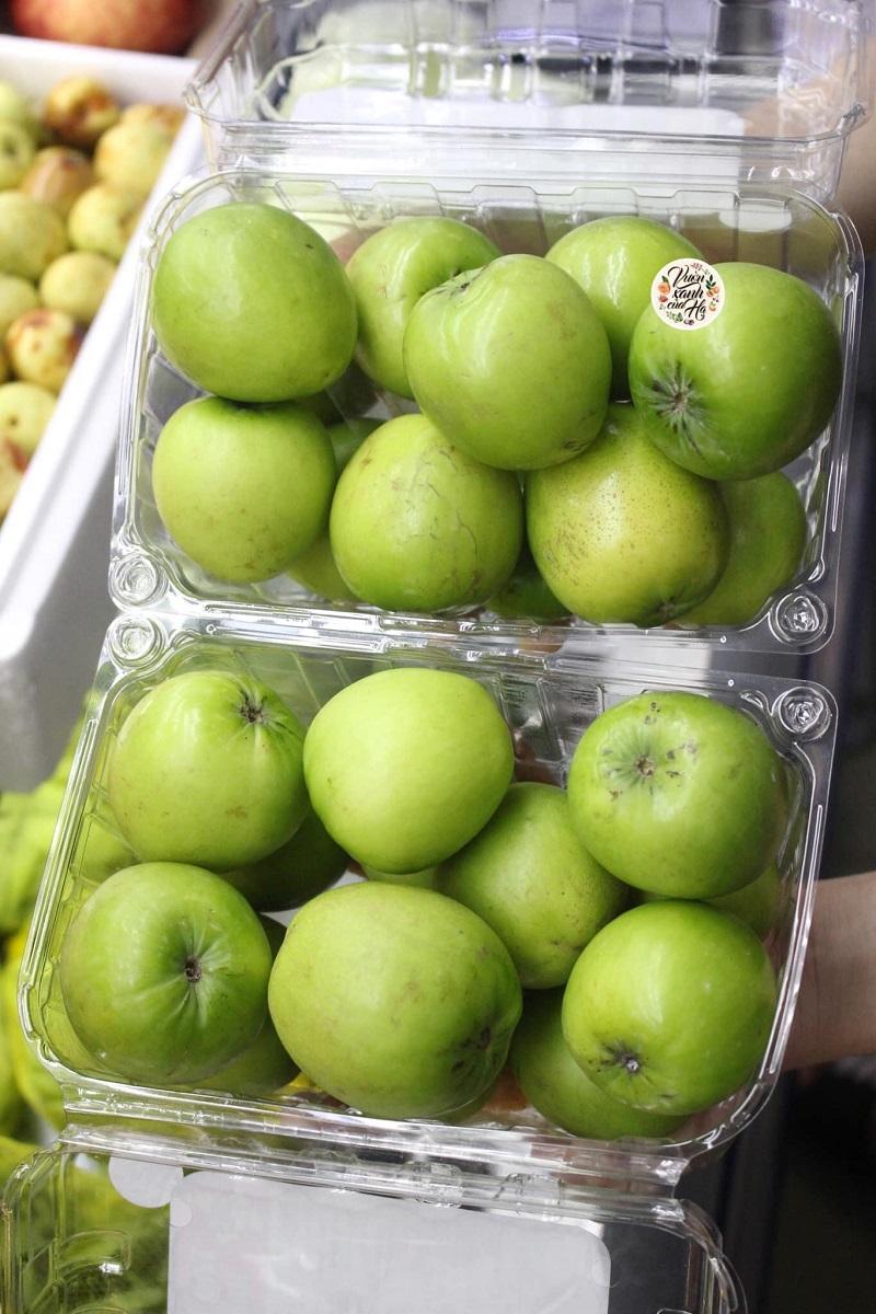 hộp nhựa đựng 1 kg táo