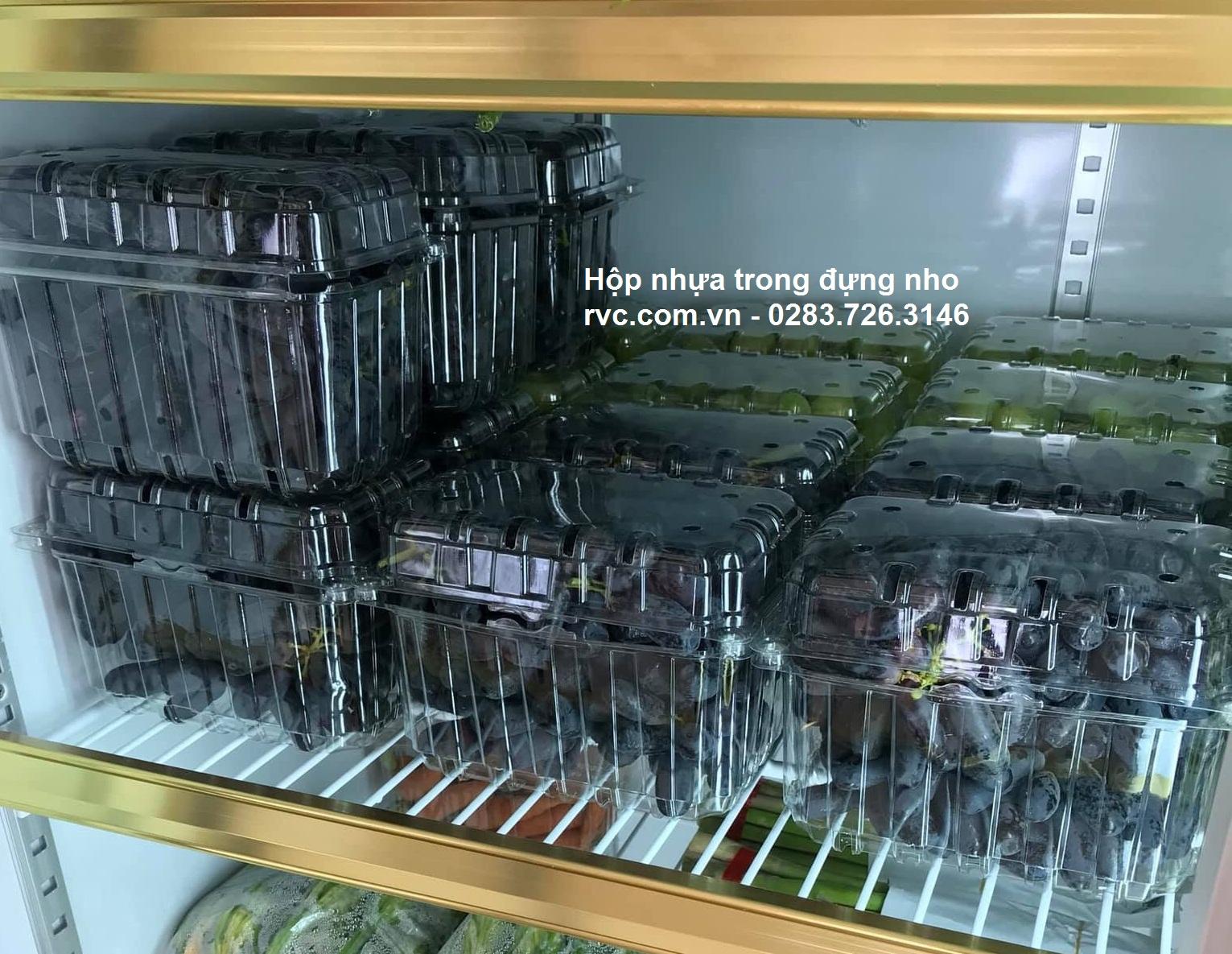 Hộp nhựa trái cây 1 kg