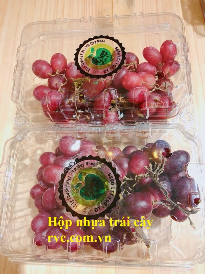 hộp nhựa đựng trái cây tphcm