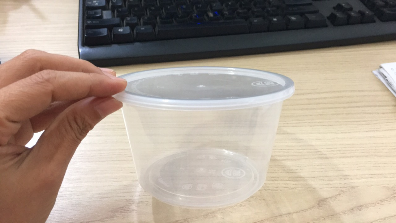 hộp nhựa tròn kín nước