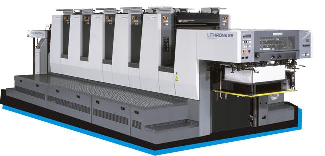 máy in offset uv sản xuất hộp nhựa trong có in